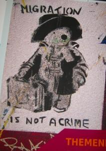 Teil eines Plakates in der AGB