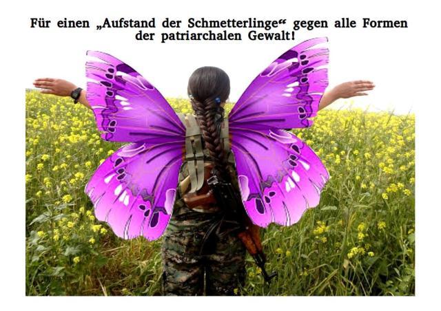 Vorsicht: Dieser Schmetterling kann zum Skorpion werden, wenn er, - nein SIE - angegriffen/bedroht wird!
